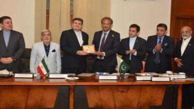 Iran consul general visits