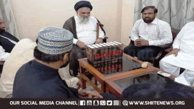 Minhajul Quran Movement delegation