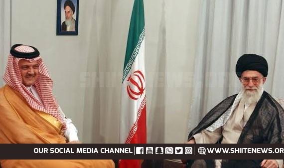 Saudi and Iranian leaders