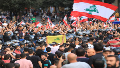 Lebanon protests put external actors to test