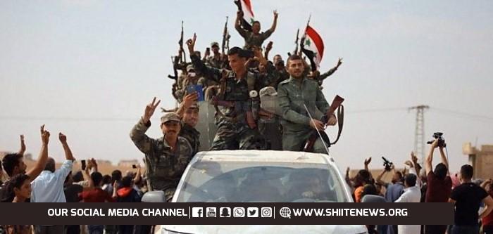 Syrian troops enter Manbij