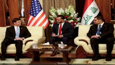 US Defense Secretary in Iraq