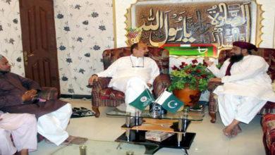 Sunni Tehreek leader backs