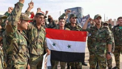 Syrian government forces enter