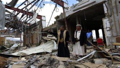 Saudi airstrikes kill five more civilians in Yemen