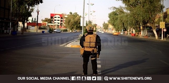 curfew in Baghdad