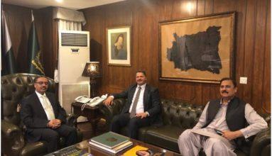 Iraqi diplomat visits