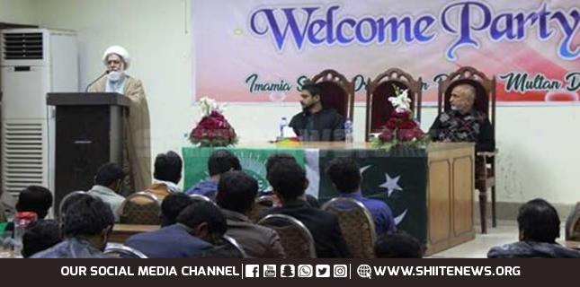 ISO Multan hosts reception