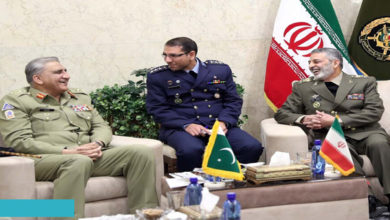 Pakistan Iran military relations
