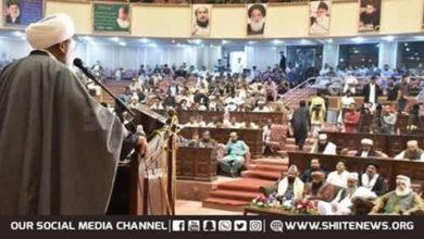 Allama Raja Nasir calls for