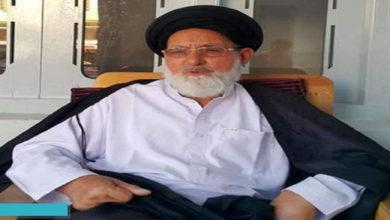 Allama Abid Hussaini opposes