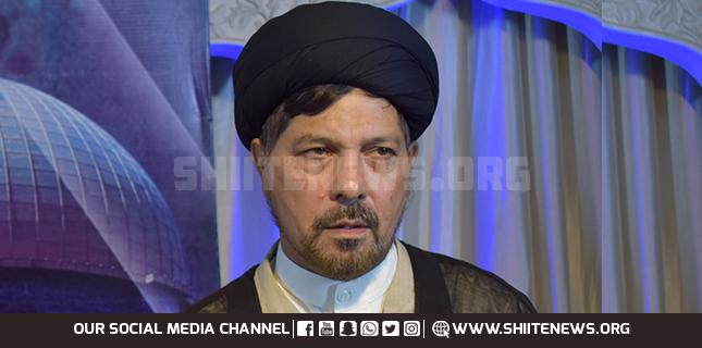 Allama Baqir condemns GCC countries pressure on Pakistan