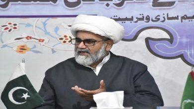 Allama Raja Nasir rejects PDM leaders stance