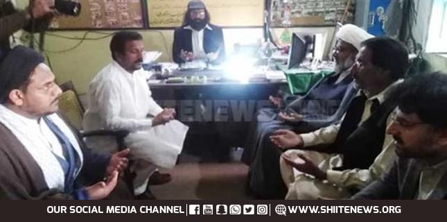 Allama Raja Nasir condoles