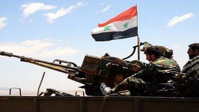 Syrian Army troops