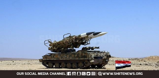 Syrian air defense forces
