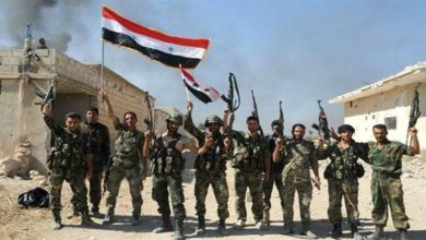 Syrian military troops