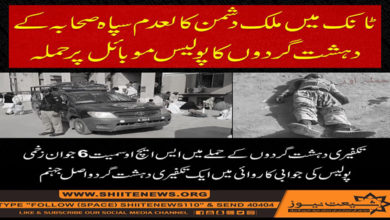 Two security officials martyred
