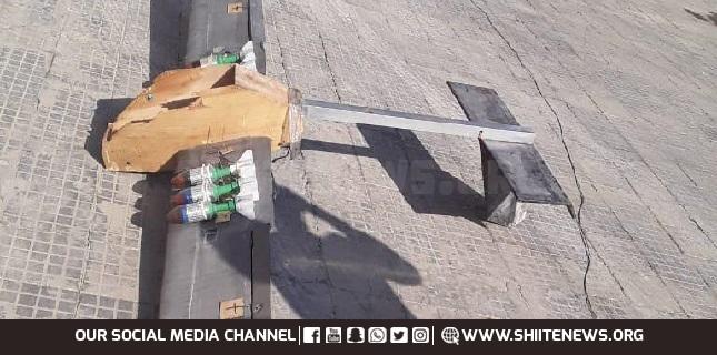 drone in Hama