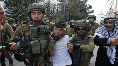 Palestinians detained