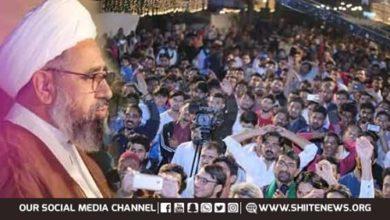 Allama Shaheedi praises martyrs
