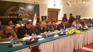 Pakistan Iran senior officials