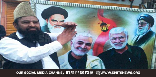 Pakistani nation adore Haj Qassem