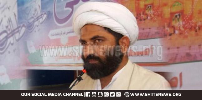 Allama Domki says freedom movements of Kashmir and Palestine