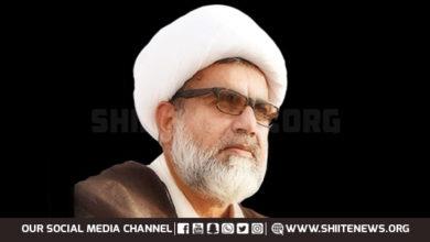 Allama Raja Nasir condemns Hazara Shia massacre