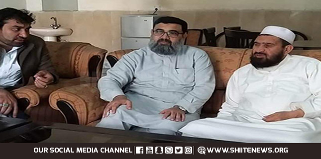 Allama Ahmed Iqbal meets