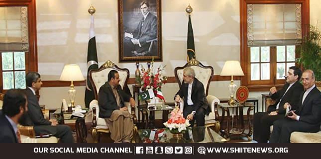 CM Punjab hails Pakistan Iran ties