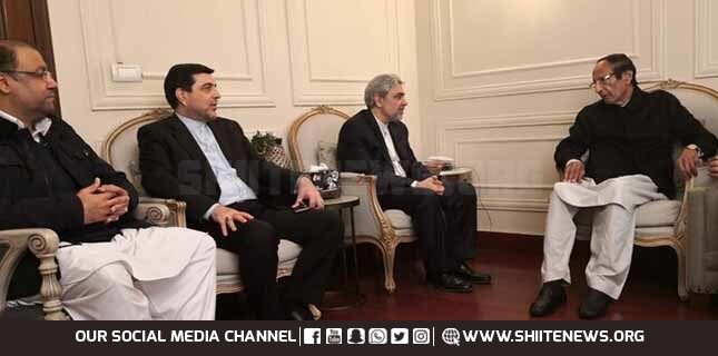 Iran ambassador calls on