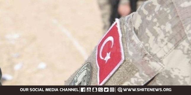 Five Turkish soldiers