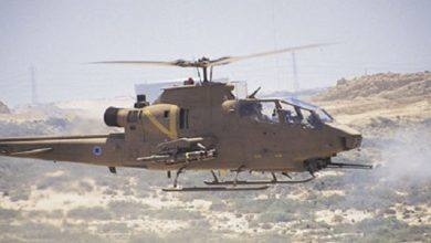 Israeli military helicopters
