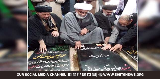 Allama Raja Nasir led delegation