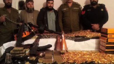 Pindi police arrests two terrorists