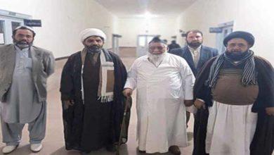 Allama Riaz Najafi visits Iran