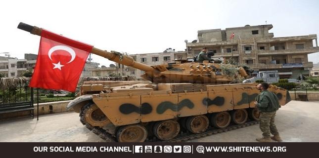 Turkish shelling