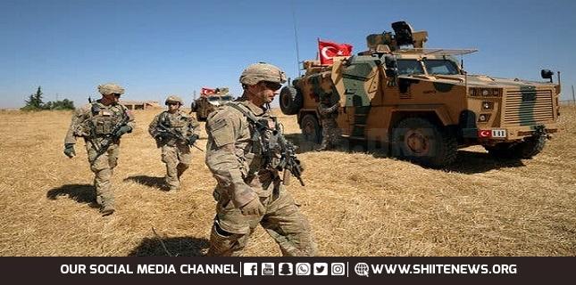 Turkish troopers