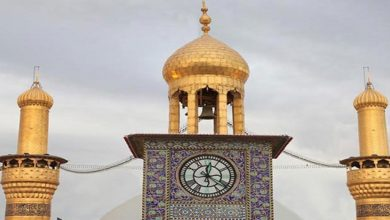 Clock Tower of Imam Hussain's (A.S) Holy Shrine