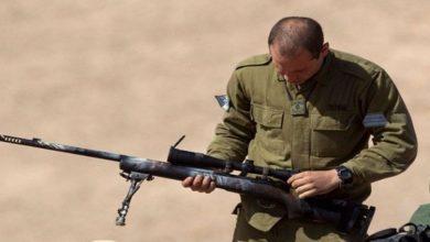 Israeli snipers