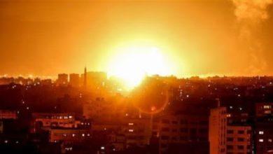 Israeli warplanes airstrikes