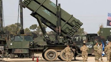 deployment of Patriot missile