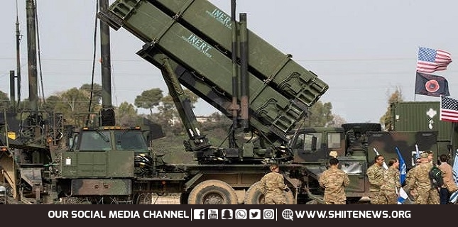 deployment of Patriot missile