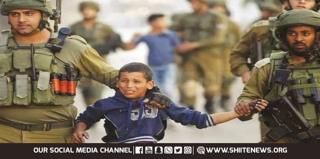 200 Palestinian children in Israeli prisons