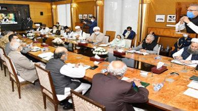 Allama Raja Nasir also attends