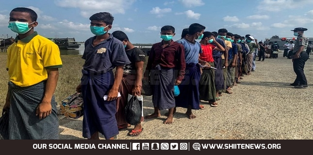Rohingya prisoners