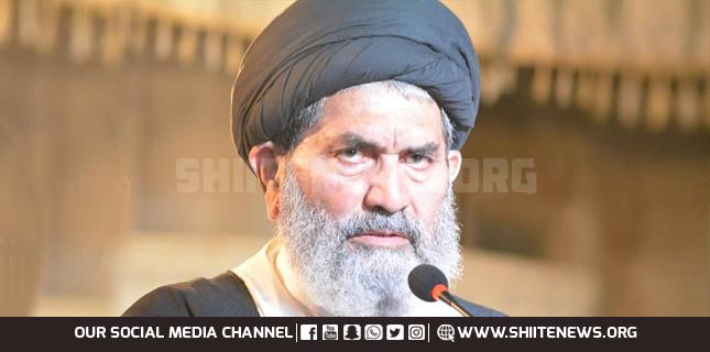 Allama Sajid Naqvi demands release innocent victims of enforced disappearance
