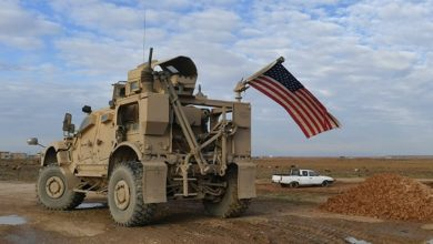 US convoy in Hasakah
