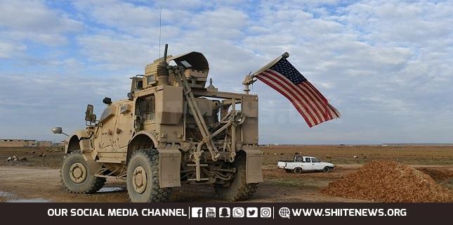 US convoy in Hasakah